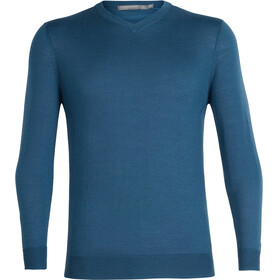Icebreaker Quailburn V Sweater Men thunder